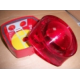 IP55 Loop Powered Strobe Red Body Red Lens